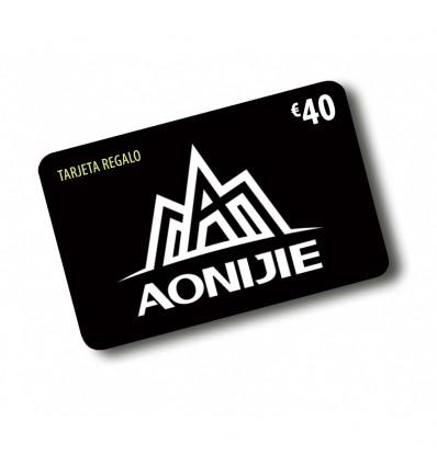 TARJETA REGALO AONIJIE 40€