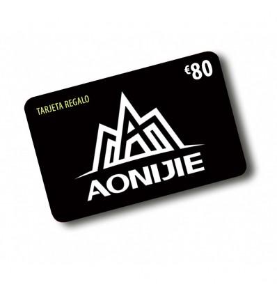 TARJETA REGALO AONIJIE 80€